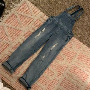 Blue jeans KUT FROM THE KLOTH Emma Overalls Size 6